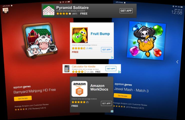 Теперь в Amazon можно нацеливать рекламу приложений на пользователей Fire и Android