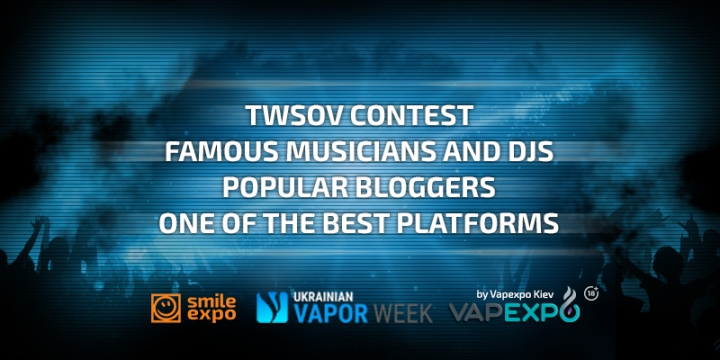 The hottest May! Ukrainian Vape Week is around the corner!