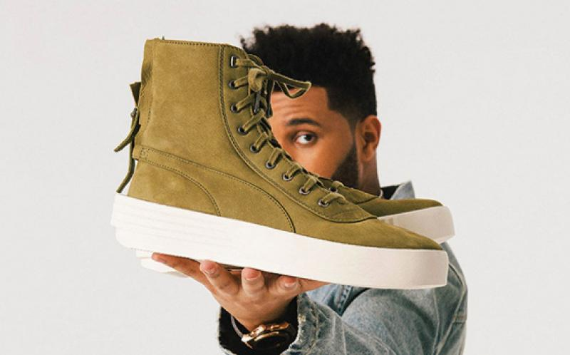 The Weeknd presented unisex high-tops for Elon Musk and Barack Obama