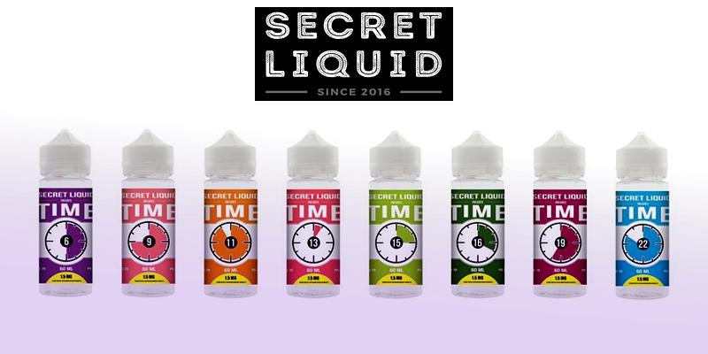 TIME by Secret Liquid: кожен смак за розкладом