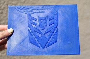 """2.5D Printing"" — Block Printing With a 3D Printer"