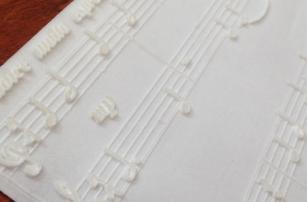 3D-печатные ноты позволят слепым людям учить музыкальную грамоту