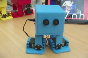 Create a 3D printed robot that dances like Michael Jackson with new robot kit