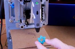 3D-ручку превратили в 3D-принтер