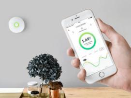 Airthings Wave Plus проанализирует состояние воздуха в вашем доме