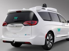 Alphabet представил первый беспилотный автомобиль под брендом Waymo