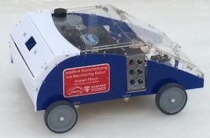 Американцы научили 3D-принтер передвигаться при помощи колёс
