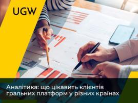 Аналітика: що цікавить клієнтів гральних платформ у різних країнах
