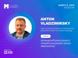 Anton Vladzimirsky, PhD in Medicine, will make a presentation about efficiency of telemedicine