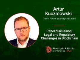 Artur Kuczmowski to participate in panel discussion on legal regulation of blockchain
