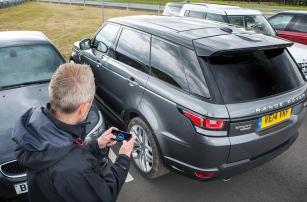 Авто с дистанционным управлением со смартфона от Land Rover