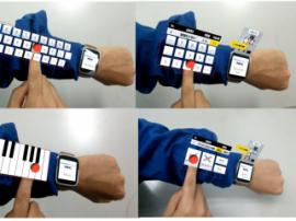 Бесконтактное управление в AR-интерфейсе
