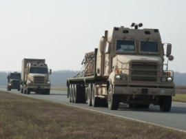 Беспилотная автоколонна в американской армии