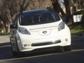 Unmanned taxis in Japan: Nissan will test first autonomous electric cars in 2018