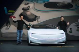 Беспилотный электромобиль LeSEE составит конкуренцию модели Tesla Model S