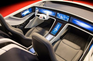 Был презентован умный салон автомобиля Bosch