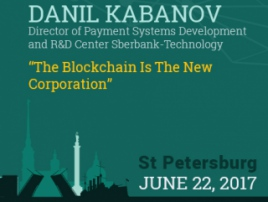 Blockchain in corporations. Sberbank experience at Blockchain & Bitcoin Conference St. Petersburg