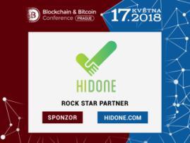 Blockchainová platforma pro sousedskou výpomoc Hidone je sponzorem Blockchain & Bitcoin Conference Prague