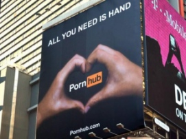 Marketing gods work at Pornhub