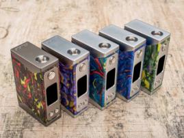Basilisk box mod from Stentorian Vapor - example of interesting epoxy resin application