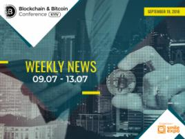 BTC goes down while Ethereum enters the second development stage – week's top crypto events