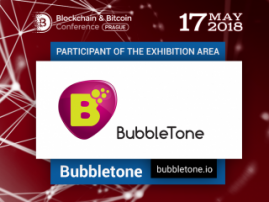 BubbleTone blockchain to present application for calls around the world at Blockchain & Bitcoin Conference Prague