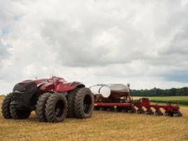 Case IH представила концепт беспилотного трактора