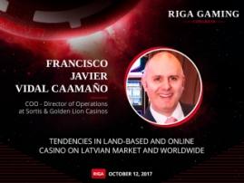Casino development in Latvia and worldwide. Presentation of Francisco Javier Vidal Caamaño at Riga Gaming Congress