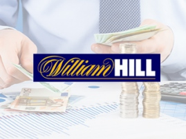 William Hill's net revenue grew by 1% last year