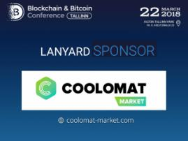 Coolomat Market will be a sponsor on Blockchain & Bitcoin Conference Tallinn