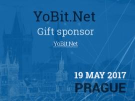 Dárky od sponzora konference YoBit.Net