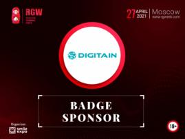 Digitain – a Leading iGaming Solutions Provider To Become a Badge Sponsor at Russian Gaming Week 2021