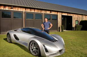 Divergent Microfactories Reveals Blade, The First 3D-Printed Supercar