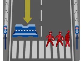 Для автомобиля с автопилотом жизнь водителя важнее пешеходов