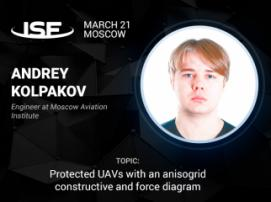 Drone for rescuers: Andrey Kolpakov to talk about hexacopter features at InSpace Forum 2018