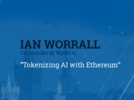Řečník Blockchain & Bitcoin Conference Prague – zakladatel MyBit.io Ian M. Worrall