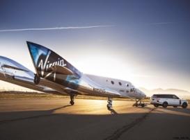 Экскурсионный космический лайнер VSS Unity совершил восьмой тестовый полет