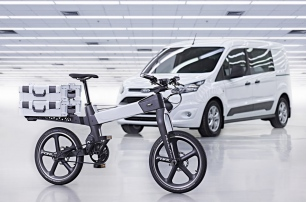 Ford's experimental e-bikes connect with car and rider