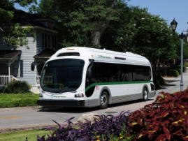 Электроавтобус установил рекорд: 1100 км пути за сутки
