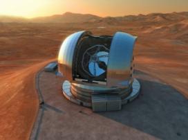 Європейська обсерваторія продемонструвала телескоп-вундеркінд