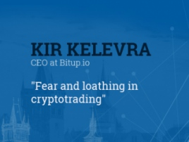 Fear and loathing in cryptotrading. Presentation of Kir Kelevra, Bitup.io founder