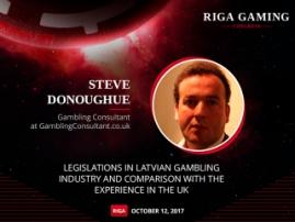 Gambling consultant to contrast Latvian and UK gambling markets at Riga Gaming Congress