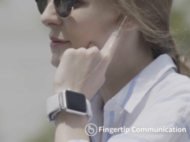 Fingertip headset – new SGNL device will allow to intercommunicate using hands