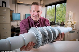 GE напечатали турбину будущего