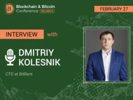 How blockchain helps to construct houses. Speaker of Blockchain & Bitcoin Conference Belarus Dmitriy Kolesnik, BitRent