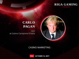 How to choose a marketing strategy in gambling business? Casino Campione D'Italia CEO will speak about it at Riga Gaming Congress