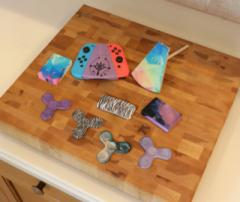 Hydro dipping: technology for simple and fast coloring of 3D printed objects