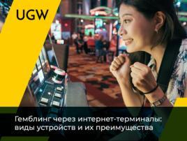 Игровые интернет-терминалы: виды и преимущества для гемблинга