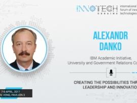 Innotech 2017 speaker Alexander Danko –coordinator of academic programs at IBM Academic Initiative