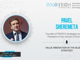 InnoTech 2017 speaker: Pavlo Sheremeta – President of Kyiv School of Economics